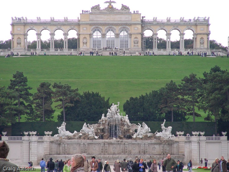 Gloriette at Schonbrunn